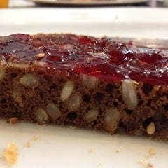 Photo taken at Mansson Danish Bakery & Café by Alessandra V. on 6/9/2012
