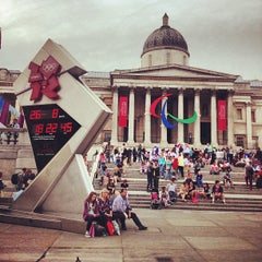 Photo taken at London 2012 OMEGA Countdown Clock by Stanislav B. on 8/26/2012