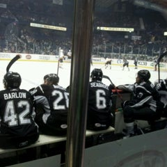 Photo taken at Chicago Wolves Game by Eric F. on 4/28/2012