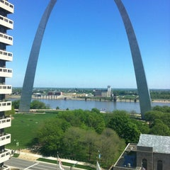 Photo taken at Drury Plaza Hotel - St. Louis at the Arch by Bryan S. on 4/6/2012