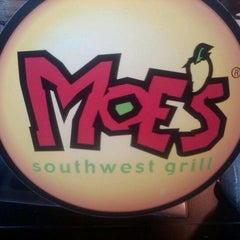 Photo taken at Moe's Southwest Grill by Jennifer C. on 7/6/2012