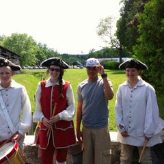 Photo taken at Fort William Henry by Pierre P. on 6/24/2012