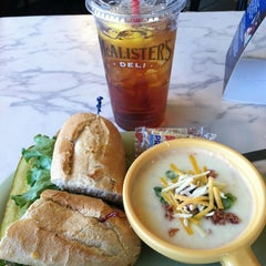 Photo taken at McAlister's Deli by Marty C. on 2/9/2012