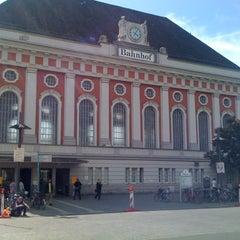 Photo taken at Bahnhof Hamm (Westfalen) by Bohyun on 5/20/2012