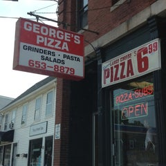 Photo taken at George's Pizza by Eric A. on 8/4/2012