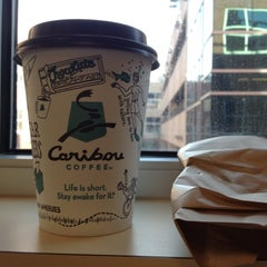 Photo taken at Caribou Coffee by Steven on 6/15/2012
