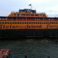 Photo taken at Staten Island Ferry - St. George Terminal by Matthew C. on 7/20/2012