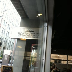 Photo taken at Backstage Coffee by Kat R. on 5/3/2012