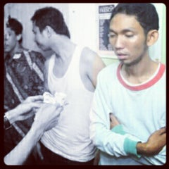 Photo taken at RAVENTH Tattoo Studio by budiiman a. on 6/2/2012