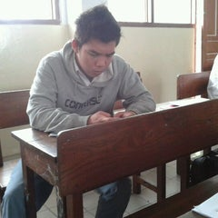 Photo taken at Sekolah Santo Paulus Jakarta by Hendry D. on 2/6/2012