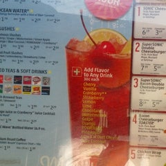 Photo taken at SONIC Drive In by Jamail V. on 6/23/2012