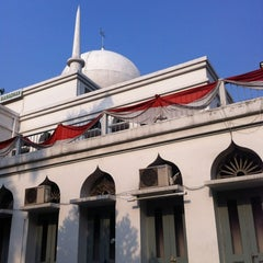 Photo taken at Masjid Agung Al-Azhar by Yusuf F. on 8/15/2012