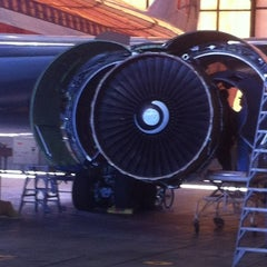 Photo taken at American Airlines Superbay Hangar by frank C. on 5/22/2012