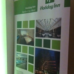 Photo taken at Holiday Inn Berlin City West by Emre D. on 3/9/2012
