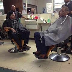 Photo taken at Antoine's barber shop by Ryan T. on 4/28/2012