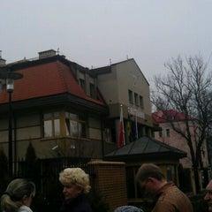 Photo taken at Генеральное консульство Польши в Калининграде by Valery P. on 4/19/2012