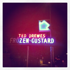 Photo taken at Ted Drewes Frozen Custard by Ethan B. on 7/24/2012