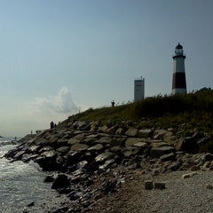 Photo taken at Montauk Point Lighthouse by B H. on 9/3/2012