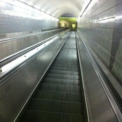 Photo taken at MARTA - Arts Center Station by Logan H. on 5/5/2012