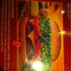 Photo taken at Red Robin Gourmet Burgers by Derek T. on 2/13/2012