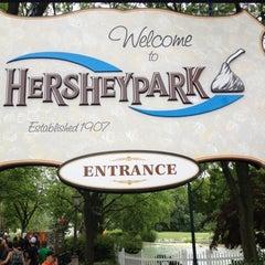 Photo taken at Hersheypark by Jennifer S. on 6/1/2012