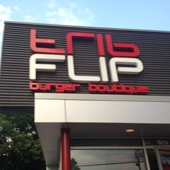 Photo taken at FLiP Burger Boutique by Carlton M. on 6/24/2012