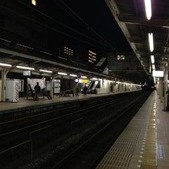 Photo taken at 朝霞台駅 (Asakadai Sta.) by Noel T. on 3/13/2012