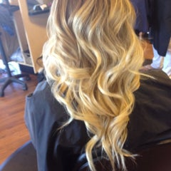 Photo taken at Stephanie Moss Salon by Lindsey A. on 5/3/2012