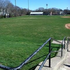 Photo taken at Healy Field by Kiki on 3/23/2012