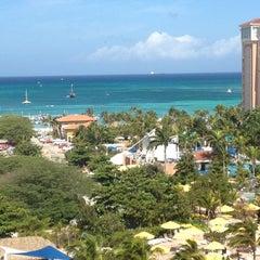 Photo taken at Marriott's Aruba Surf Club by Carlos C. on 9/6/2012