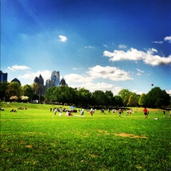 Photo taken at Piedmont Park by Lysa F. on 3/25/2012