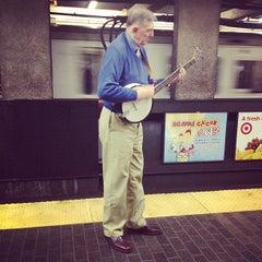 Photo taken at MBTA Downtown Crossing Station by Ruben B. on 4/26/2012