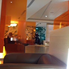 "Photo taken at Alitalia Lounge ""Giotto"" by Alex P. on 5/7/2012"