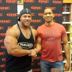 Photo taken at GNC by David B. on 6/1/2012