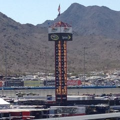 Photo taken at Phoenix International Raceway by Rich Z. on 3/4/2012