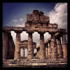 Photo taken at Area Archeologica di Paestum by Marco C. on 7/12/2012