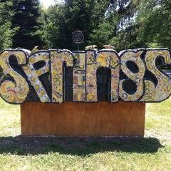 Photo taken at Village of Yellow Springs by Jef J. on 6/8/2012