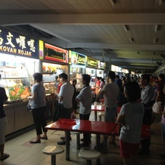 Photo taken at Kovan Hougang Market & Food Centre by Pierce Q. on 5/1/2012