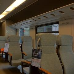 Photo taken at Malpensa Express (Cadorna) by Alessandro D. on 4/23/2012