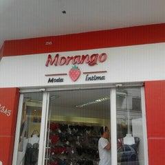 Photo taken at Morango Moda Intima by Livia A. on 4/15/2012