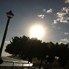 Photo taken at El puerto de la libertad by Ricky P. on 4/22/2012