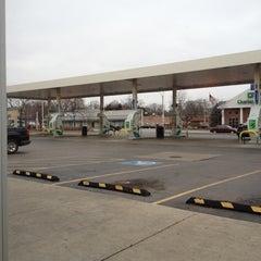 Photo taken at BP by Kira V. on 3/1/2012