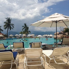 Photo taken at Marriott Casa Magna Pool by Jenn H. on 7/16/2012