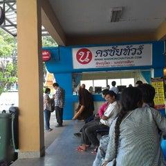 Photo taken at สถานีขนส่งผู้โดยสารเชียงใหม่ แห่งที่ 2 (อาเขต) Chiangmai Bus Terminal 2 (Arcade) by Archaree C. on 8/20/2012