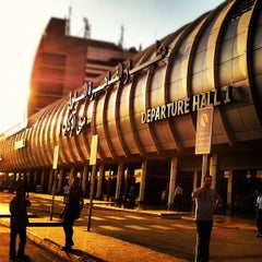 Photo taken at Cairo International Airport (CAI) by Ahmad N. on 8/15/2012