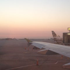 Photo taken at Gate A27 by Sarah v. on 8/9/2012