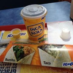 Photo taken at Bembos by José Luis O. on 4/16/2012