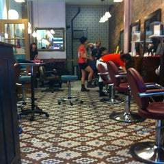 Photo taken at Fringe Salon by Brianne G. on 6/1/2012