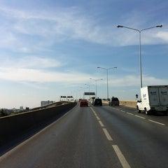 Photo taken at สะพานพระราม 3 (Rama III Bridge) by shu on 3/3/2012