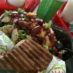 Photo taken at Super Salads by ernesto g. on 3/9/2012